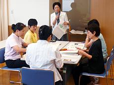 現場スタッフを対象に講義+演習による施設環境づくり研修